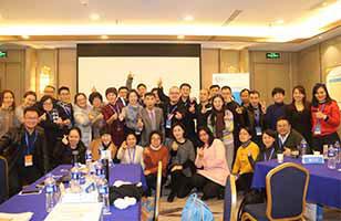 中国职业规划师培训师生合影