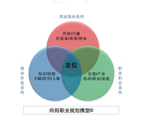 向阳生涯职业规划模型